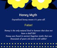 Handy Tips, Helpful Hints, Honey Bee Facts, False Facts, Honey Packaging, Bee Bee, Some Jokes, Honey Bees, Bee Happy