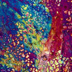SO MANY BEAUTIFUL IMAGES - Crystallized Alcoholic Drinks Form Psychedelic Images - My Modern Metropolis
