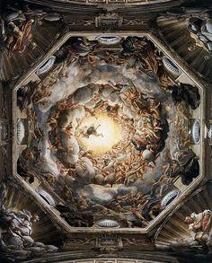 Assunzione Autore:Correggio Data:1524-1530 Dove:Duomo Di Parma