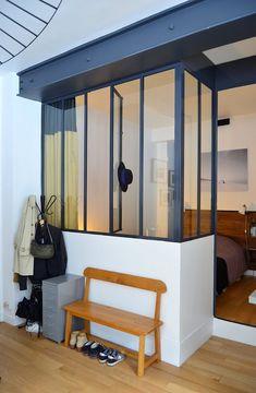 Departamento pequeño 2 ambientes con decoración nórdica vintage 11