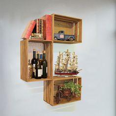 Quickway Imports Mora Wooden Crate & Reviews | Wayfair