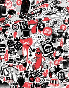 Western Pattern LaNewEra ® by Sur17 , via Behance