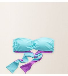 Robin Aerie Reversible Bandeau Top - Two ways to wear it. Two sun-loving colors! #Aerie