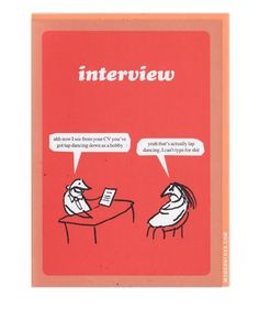 Make sure the interview goes smoothly.