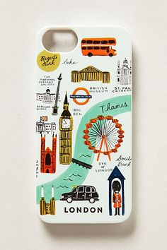 London iPhone 5 Case #anthropologie