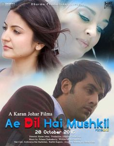 Ae Dil Hai muskil Full HD Movie Watch & Download Torrent. Live Watch Full Movie On Satellite Channel. Download 1080p HD Movie From our Site. Latest Movie 2016. Collect All Hindi, English, Tamil Movie. Mp4, Mp3, Avi, Mkv, DVDrip Movie.  ==>> http://hollywoodmovieshut.com/ae-dil-hai-mushkil-full-hindi-movie-watch-online/