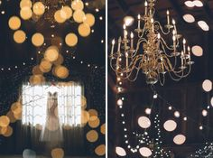 Rustic Wedding with Gorgeous Chandelier