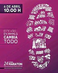 MEDIA MARATON Y CARRERA POPULAR : XXIV MEDIA MARATON CIUDAD DE MALAGA