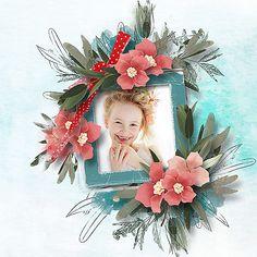 Floral Wreath, Scrap, Wreaths, Frame, Blog, Design, Home Decor, Homemade Home Decor, Flower Crowns