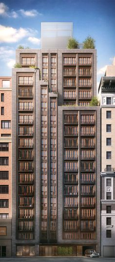 210 West 77th Street | 56m | 185 ft | 18 fl | Thomas Juul-Hansen