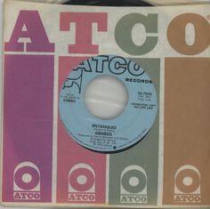 "Genesis, Entangled, USA, Promo, Deleted, 7"" vinyl single (7 inch record), Atco, 45-7050, 142800"