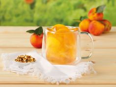 Peachy Keen Tea-Infused Cocktail Recipe