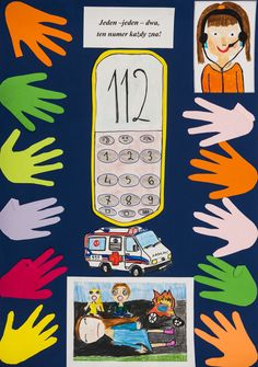 pierwsza pomoc / first aid / edukacja / education / children / szkoła / school / poster Movies, Movie Posters, Projects, Films, Film Poster, Cinema, Movie, Film, Movie Quotes