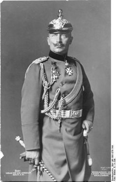 Kaiser Wilhelm II: Emperor of Germany and grandson of Queen Victoria Repinned by www.gorara.com