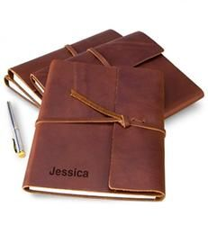 Fine Leather Journal with Free Embossing  $39.95