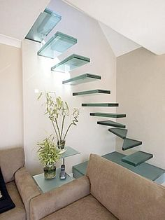 Stairway as art, and