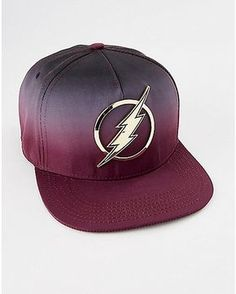 new style 1a724 497de Ombre The Flash Snapback Hat - DC Comics - Spencer s