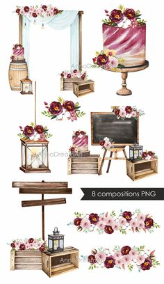 Outdoor Wedding Decorations, Diy Party Decorations, Wedding Themes, Diy Wedding, Rustic Wedding, Dream Wedding, Wedding Color Schemes, Wedding Colors, Photo Png