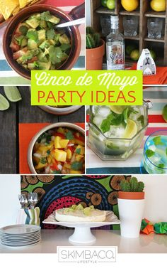 Cinco de Mayo part ideas: the food, table setting, DIY pinjata instructions and more at http://www.skimbacolifestyle.com/2013/04/12-cinco-de-mayo-party-ideas.html