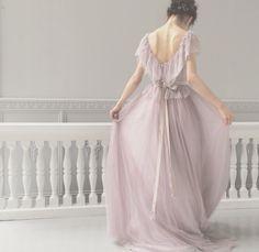 お色直しで着たいスミレ色のカラードレス maison suzuさん♪