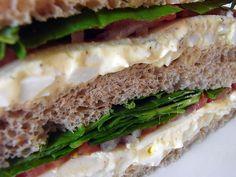 "Delish Egg Salad Sanwiches from ""Pret a Manger""...The 'copy cat recipe'!! Perfecto!"