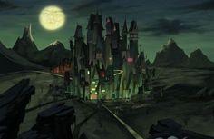 Monsterland in the scene of The Haunted World of El Superbeasto.
