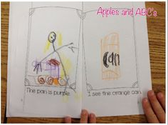 Emergent Reader Using Word Families...the students are the illustrator