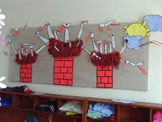 Art Education, Bird Houses, Triangle, Preschool, Alice, Birds, Techno, Holiday Decor, Spring