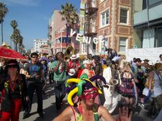 Mardi gras Party gras! Venice Beach Events, Venice CA, Santa Monica Events