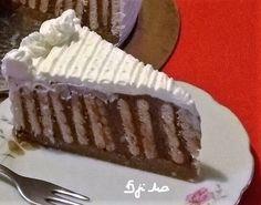 Rengeteg háztartási keksz volt itthon, amit fel kellett használni, gondoltam keksztortát készítek belőle és finom lett! - Ketkes.com Food And Drink, Sweets, Desserts, Cukor, Tailgate Desserts, Deserts, Gummi Candy, Candy, Goodies