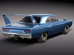 Plymouth Roadrunner Superbird... Definitely on my top 10 list..