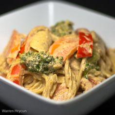 Spicy Almond Noodles...Vegan Eats