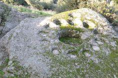 """Parco archeologico di S. Stefano - """"Coppelle"""" - Oschiri."""