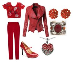 """""""Maroon Delight"""" by christine-steenkamp on Polyvore featuring Calvin Klein and Lord & Taylor"""