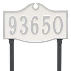 Montague Metal Products Colonial Standard One Line Address Plaque Finish: Chocolate/Silver