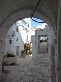 Cisternino Puglia Italia (Luglio)