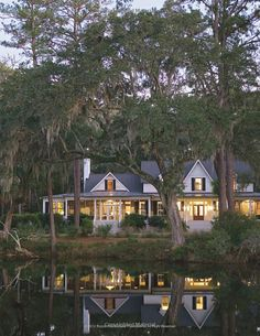 VERY Southern - great - from: Coming Home: The Southern Vernacular House : James Lowell Strickland, Susan Sully