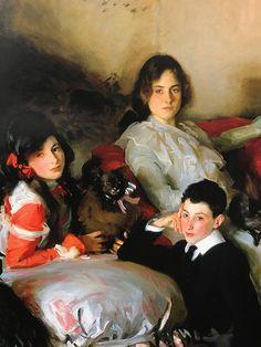 Detail of the Wertheimer children, John Singer Sargent, 1902