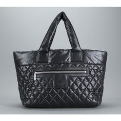 Chanel Quilted Nylon Coco Cocoon