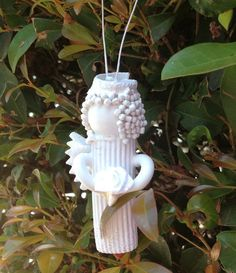 Pasta Angel ornament or decoration by SassafrasANDPepper on Etsy, $4.50