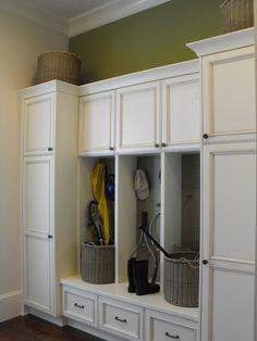 cupboards in entryway closet - Bing Images