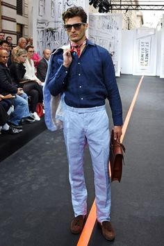 42cffe1fbdb9 St James hosted an Open air catwalk show during the London Collections  Men
