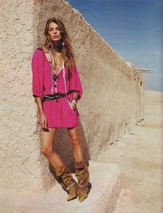 ISABEL MARANT.  Uhhhhhh the boots. . . Awesome!!