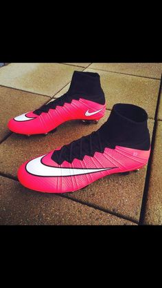 nike mercurial | pink and black | beautiful shoes |