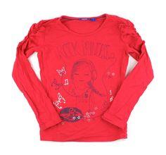 red t-shirt, Mexx t-shirt, Mexx for girl