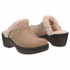 Crocs Women's Cobbler Leather Clog Shoe
