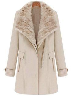 Lingswallow Women Elegant Double Breasted Belted Long Jacket Trenchcoat LTR
