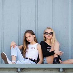 The nice thing about teamwork is that you always have someone on your side This little dynamic duo is a perfect example of how we are better together. @missjaydenb & @official_amiah_miller You are both such exceptional girls who have the heart to back up the beauty you both possess. We hope you realize how rare & precious that you are! You are so truly happy that you have come into our lives! Another amazing one for @d3sparks Can't wait to see you soon!! #bettertogether #togetherwecan…
