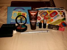 My first #ipsy bag. Don't need ta tanner product though!