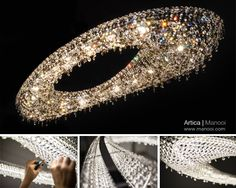 Artica Crystal Chandelier Manooi www.manooi.com #Manooi #Chandelier #CrystalChandelier #Design #Lighting #Artica #luxury #furniture